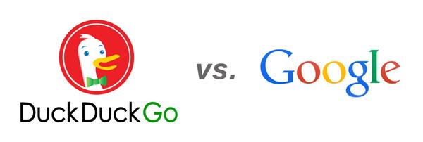 duckduckgo vs. google