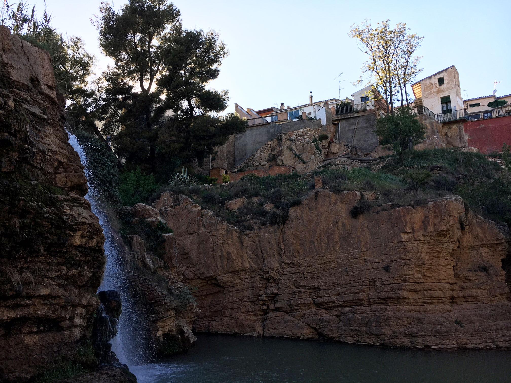 Muel Spain Waterfall