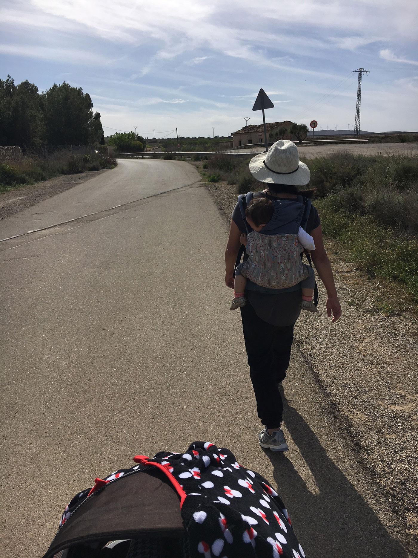 walking to mozota